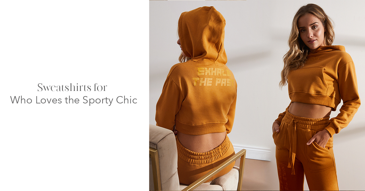 Sweatshirts for Who Loves the Sporty Chic